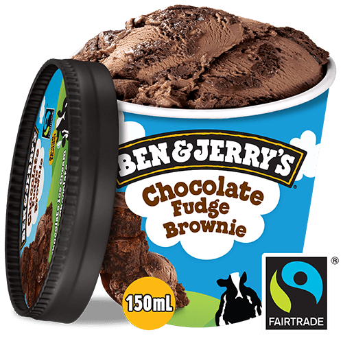 Foto Ben & Jerry's Chocolate Fudge Brownie 100 ml