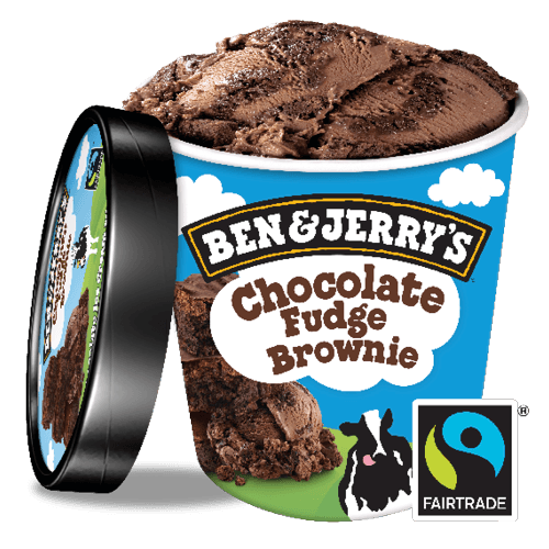 Foto Ben & Jerry's Chocolate Fudge Brownie non-dairy 500 ml