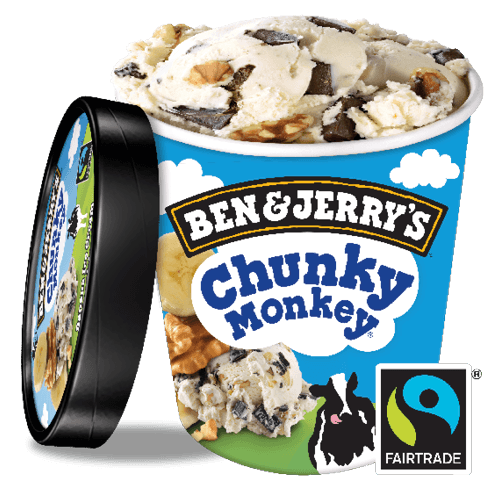 Foto Ben & Jerry's Chunky monkey non-dairy 500 ml